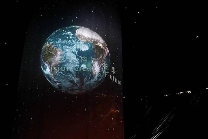 湖南长沙中联重科4.5米直径室内P6全彩LED球形黄金城hjcvip官网_hjcvip黄金城_黄金城棋牌娱乐屏