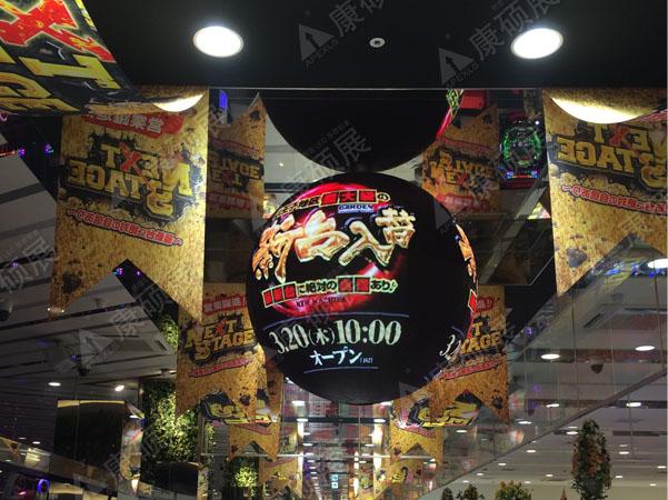 日本2米直径LED球形屏