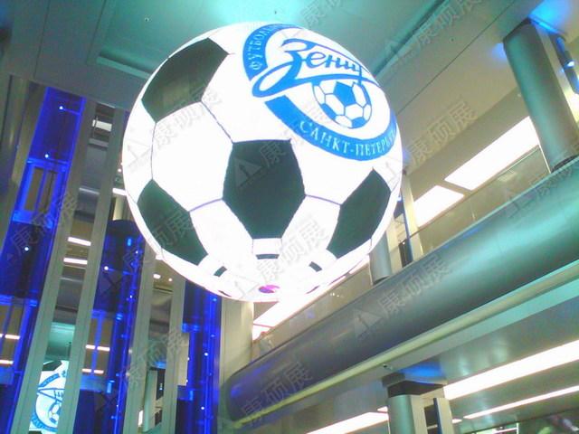 2014索契冬奥会LED球形屏