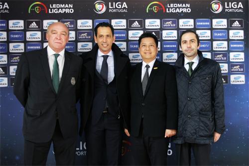 雷曼股份参观访问葡萄牙各足球俱乐部