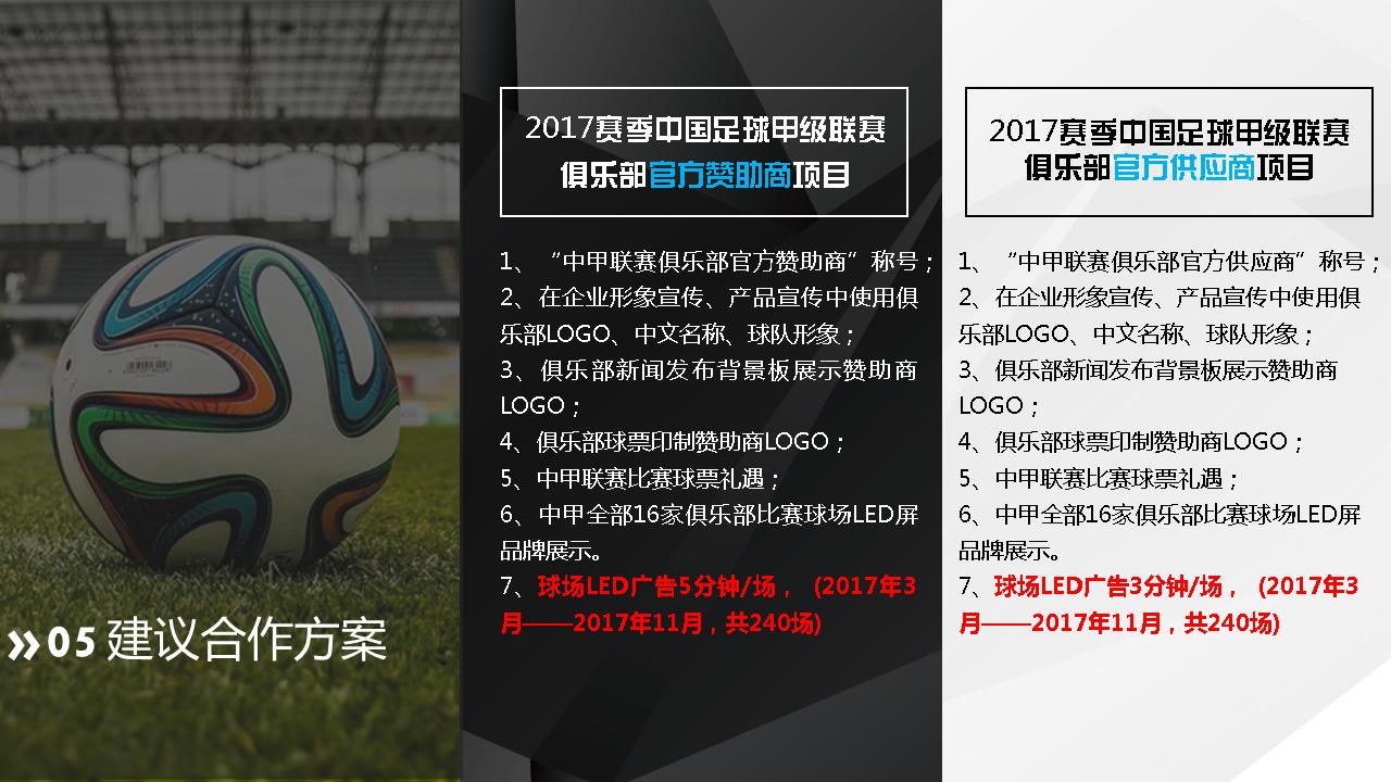 中甲联赛商务合作方案24
